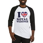 I Love Royal Weddings Baseball Jersey
