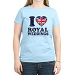 I Love Royal Weddings Women's Light T-Shirt