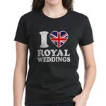I Love Royal Weddings Women's Dark T-Shirt