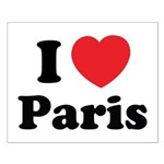 I love Paris Small Poster