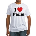 I love Paris Fitted T-Shirt