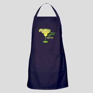 Little Sippy Cup Apron (dark)
