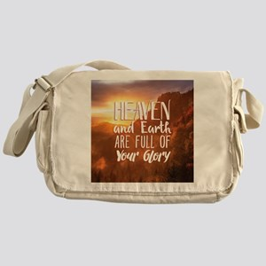 Heaven and Earth Messenger Bag