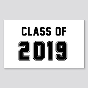 Class of 2019 Black Sticker