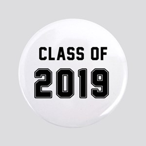 Class Of 2019 Black Button