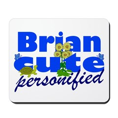 Cute Brian Mousepad