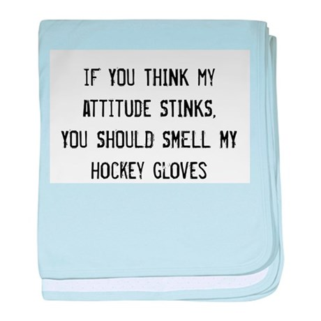 Attitude (Gloves) baby blanket