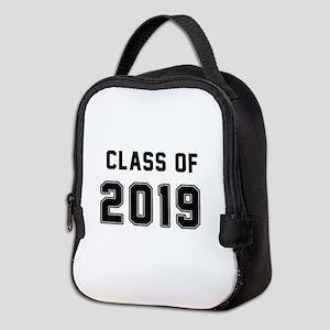 Class of 2019 Black Neoprene Lunch Bag