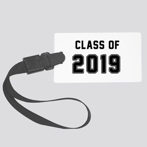 Class of 2019 Black Luggage Tag
