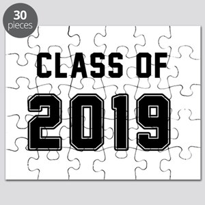Class of 2019 Black Puzzle