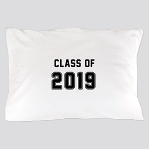 Class of 2019 Black Pillow Case