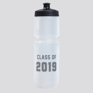 Class of 2019 Black Sports Bottle