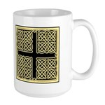Celtic Square Cross Large Mug