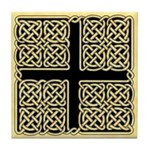Celtic Square Cross Tile Coaster