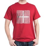 Celtic Square Cross Dark T-Shirt