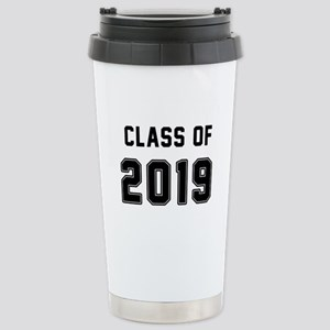 Class of 2019 Black Travel Mug