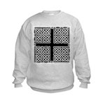 Celtic Square Cross Kids Sweatshirt