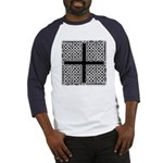 Celtic Square Cross Baseball Jersey