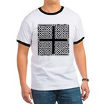 Celtic Square Cross Ringer T