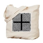 Celtic Square Cross Tote Bag