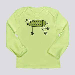 Green Fly Babe Long Sleeve Infant T-Shirt
