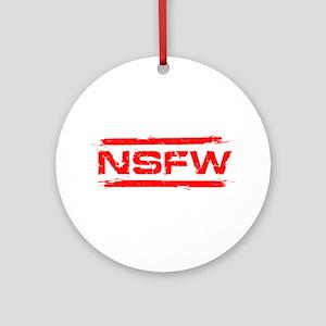 NSFW Ornament (Round)
