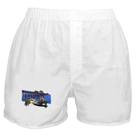 Pelican Pier Boxer Shorts