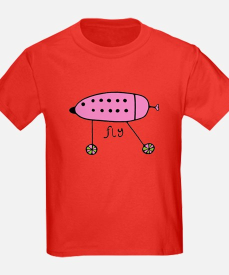 Pink Fly Babe T