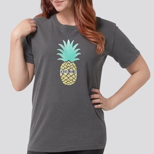 Delta Zeta Pineapple Womens Comfort Colors Shirt