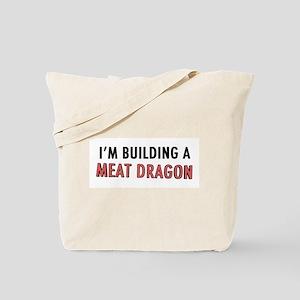 Meat Dragon Tote Bag