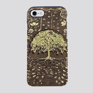 Tree of Life Fall Rustic Vintage iPhone 7 Tough Ca