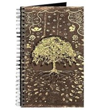 Tree of Life Fall Rustic Vintage Journal