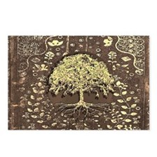 Tree of Life Fall Rustic Vintage Postcards (Packag