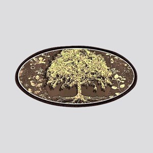 Tree of Life Fall Rustic Vintage Patch