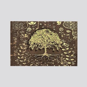 Tree of Life Fall Rustic Vintage Magnets