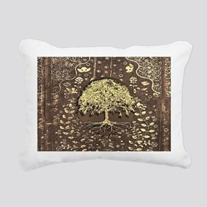 Tree of Life Fall Rustic Vintage Rectangular Canva