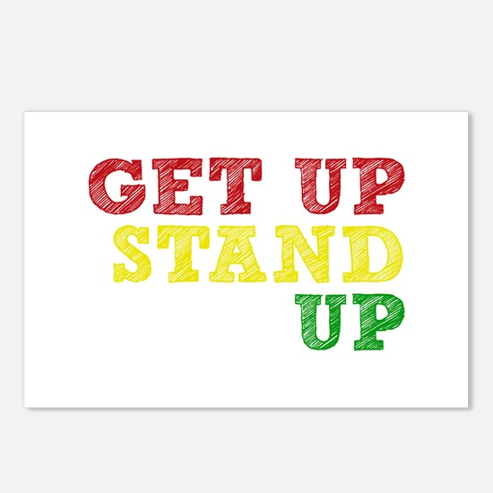 Get Up Stand Up Postcards (Package of 8)
