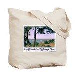 California Beaches--Highway One tote bag