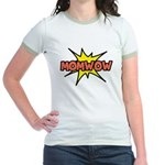 Mom Wow Jr. Ringer T-Shirt