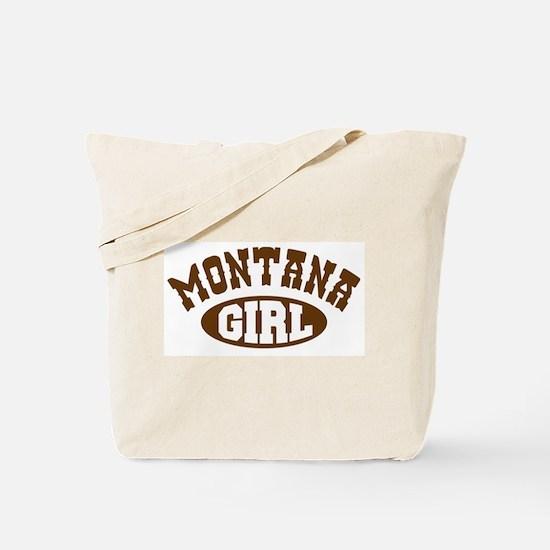 Montana Girl Tote Bag