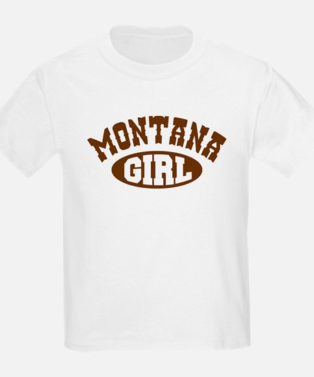 Montana Girl Kids T-Shirt
