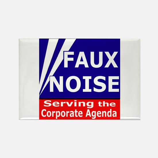 Fox News - Faux Noise Rectangle Magnet