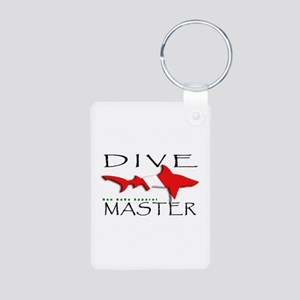 Dive Master Aluminum Photo Keychain