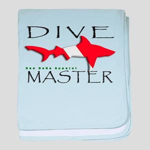 Dive Master baby blanket