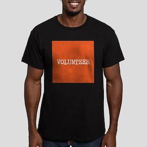 VOLUNTEER Men's Fitted T-Shirt (dark)