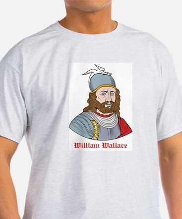 William Wallace Ash Grey T-Shirt