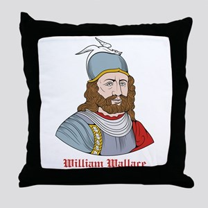 William Wallace Throw Pillow