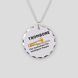 Intelligent Trombone Necklace