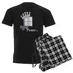 Royal Panes Men's Dark Pajamas