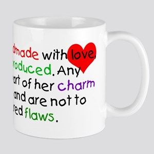 Handmade With Love girl Mug